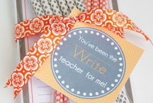 Teacher Appreciation- gifts and ideas