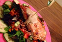 barbells + bites salads. / by Caitlin Davidson