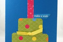Stampin Up - Birthday / by Kathy Steplyk