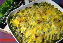 Courgettes gratin