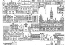 Glasgow Modelos de Ciudad / by Catalina Montiel Romero