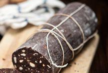 Csokoládé;-kakaó szalámi receptek