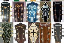 """Guitarz Headstocks Plus"" / by John Beacher"