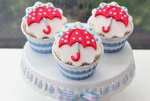 Cupcake's en taarten
