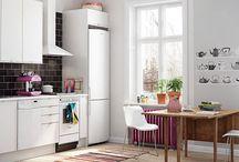 Решения — кухни в скандинавском стиле / Скандинавский стиль в интерьере  становится все более популярным.Почему бы и не насладиться  функциональностью и рациональностью шведских решений на кухне?