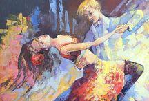 Aleksander Rymarczyk / Aleksander Rymarczyk Urodził się i mieszka w Grodnie. Studia na Wyższej Szkole Sztuk Pięknych w Moskwie ukończył 1993 roku na wydziale malarstwa i rysunku. Jednocześnie w tym samym czasie pracował już jako projektant. Obecnie prowadzi zajęcia jako profesor w studium malarstwa w Mińsku.