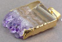 amethyst / Lovely amethyst stones available at jewelersparadise.etsy.com