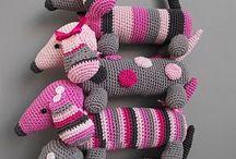 perros al crochet