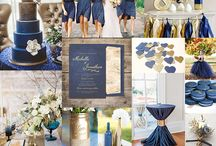 NAVY AND GOLD WEDDING IDEAS AND INSPIRATION