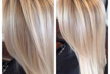 Highlights / Lighter pieces throughout the hair to brighten its overall appearance