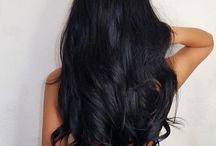 Online Buy Black Color Wigs