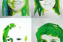 Kleur / kleur portretten