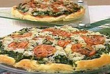 Pizzas, Esfirras, Empadões e Tortas salgadas