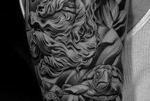tattoo - svart hvit