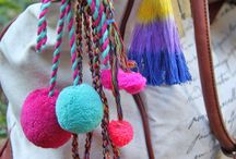 bags tassels charms