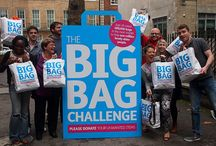 Big Bag Challenge 2014 / Age UK has launched The Big Bag Challenge! We need 200,00 bags of your unwanted items in a month to help combat loneliness amongst older people. / by Age UK