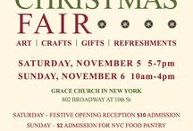 2016 Annual Grace Christmas Fair / November 5th & 6th, 2016.   Come You can shop local artists, and enjoy refreshments and good cheer.