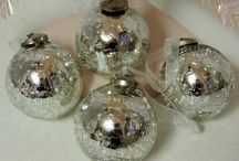 For The Love Of Mercury Glass / Beautiful mercury glass inspired decor for a touch of elegance in your home.