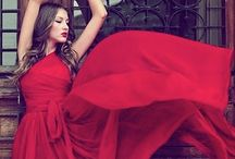 Bold in Red