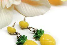 Rockabilly Pin up earrings & Jewelry