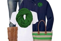Green outfits / Green outfits, ideas and inspiration