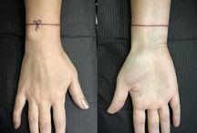 Tiny Bracelet Tattoo