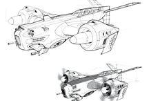 sci-fi vehicle