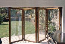 Wooden Bi Fold doors