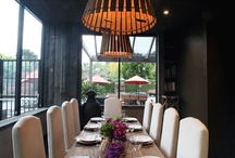 Dining Rooms / Ideas and inspiration for new dining room additions or remodels.  Windows, doors, flooring, paneling, lighting ideas. / by Eden Builders