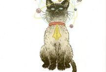 Kitty Art / by Jerri Gullion