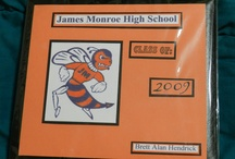 High School Scrapbooks / Scrapbooks I've made for family and friends for graduation / by Theresa Mittan