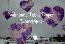 Crafts - Valentine's day / by Michelle Furneaux