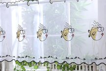 Cafe Net Curtains / Cafe Net Curtains for Bathrooms, Kitchens and any window that you want to cover just half the window.