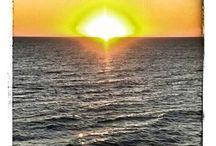 tramonto sull'Oceano Pacifico / by Federica Bulletti Accardo