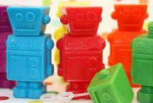 Boy-party: Robot