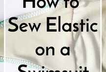 Swimsuit elastic