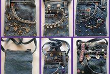 Jeans mal anders / Jeans ist nicht einfach nur eine Hose, sondern ein vielseitig anwendbarer Stoff.