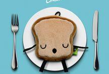 I Love Sanwi Plushes / Super cute sandwich plushes