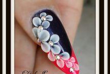 flat 3d nails