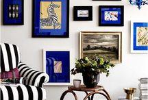 Blue homes & interiors