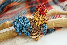 polimer clay quilling