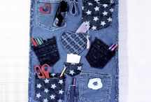 RECYCLED Denim Organizer