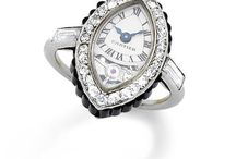 Antique & Vintage Watch Rings / Travel in time and click through these iconic antique & vintage watch rings.