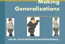 Inferences/Generalizations/Drawing Conclusions