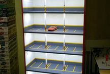 My hotwheels garage