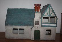 Antique & Vintage Dolls Houses / Kitty Macdonald has been buying and selling Antique & Vintage Dolls Houses since 2003 and owns the copyright to one of the most comprehensive photographic libraries in the world. Please remember this when you pin our work on pinterest (C) Kitty Macdonald.