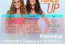 Tone It Up / Fitness routines from Tone It Up trainers
