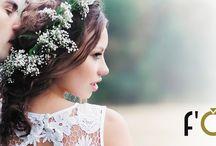 f'OrU / trouwringen, partner-ringen, handmade organische stijl
