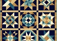 Quilts, star samples