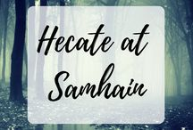Hekate / Hecate / Posts & Pins about Hekate / Hecate, the Greek Goddess of Witchcraft, the Dead, necromancy, the Underworld and the Crossroads.
